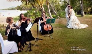 Wedding Ceremony Music Cairns, Port Douglas and Palm Cove.