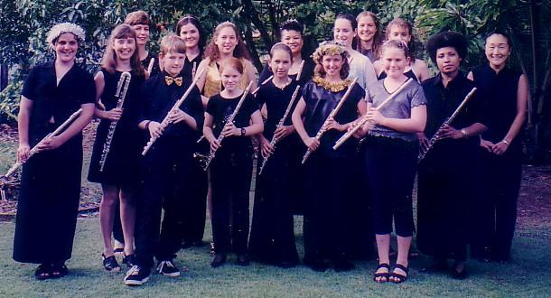 Flute Teaching Ensemble First Concert