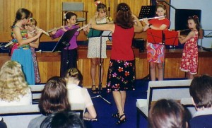 Flute Teaching Ensemble Young