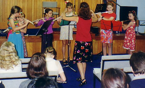 Flute Teaching Ensemble Young